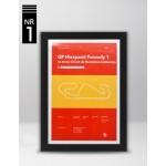 Plakat Formuła 1 GP Hiszpanii