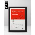 Plakat Formuła 1 GP Monaco