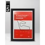 Plakat Formuła 1 GP Austrii
