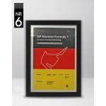 Plakat Formuła 1 GP Niemiec