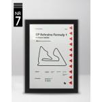 Plakat Formuła 1 GP Bahrainu