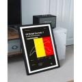 Plakat Formuła 1 GP Belgii
