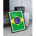 Plakat Formuła 1 GP Brazylii