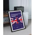 Plakat Formuła 1 GP Wielkiej Brytanii