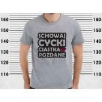 Koszulka Schowaj Cycki ciastka rozdane